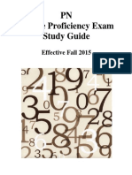 PN Study Guide dosage proficiency exam