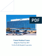 United Medical Center FY2017 Budget
