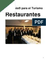 Ingles para El Turismo Restaurantes