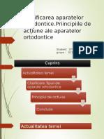 Clasificarea Aparatelor Ortodontice 2 Final
