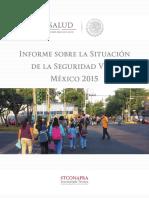 Informe de Seguridad Vial 2015