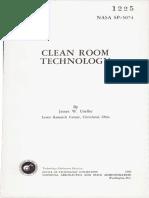 Clean Room Technology Nasa