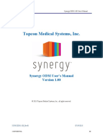 Synergy ODM User's Manual