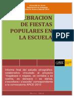 Celebracion Fiestas Escuela