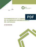 Determinantes de La Competitividad de Las Empresas Agroindustriales Del Esparrago