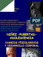 NIÑEZ-PUBERTAD-ADOLESCENCIA