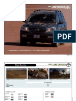 Toyota Land Cruiser Brochure