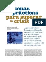 Buenas Practicas Para Superar La Crisis