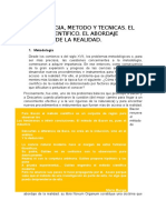 Capítulo 2 Metodologia de La Investigacion