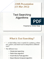Aldrian Text Searching