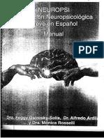 Manual Neuropsi Breve