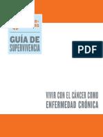 Vivir Con El Cancer Como Enfermedad Cronica