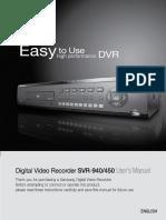 DVR Samsung _450UserManual(Eng3)