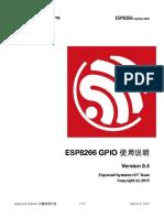 8a-Esp8266 Interface Gpio Cn v0.4