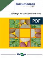 Catalogo de Cultivares de BATATA