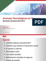 Avances Tecnológicos en Seguros-Mario Valero-Abril 2012