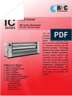 IC-20 Commercial Flatwork Ironer