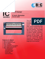 IC-8 Commercial Flatwork Ironer