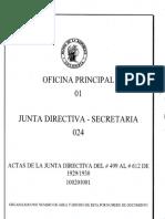 Junta Directiva Del Banco de La Republica Acta Del Dia 8 de Enero de 1929