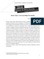 """Hardt, Negri e """"o Novo Paradigma Do Trabalho"""""""