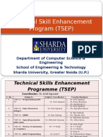 Technical Skill Enhancement Program (TSEP)