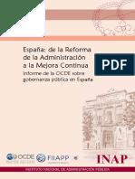 Informe OCDE España 2014