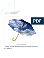 Cloud Computing Security Risk Assessment