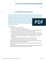 Data Sheet Cisco Catalyst 3850 Series Switches