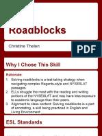 Roadblocks (1)