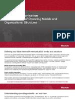 Organizational Structures Compendium_Melcrum