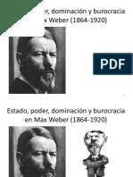 Estado, Poder y Dominación en Max Weber