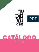 Catálogo Festival de Cine Radical 2016