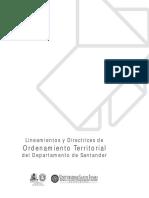 Ordenamiento Territorial Santander
