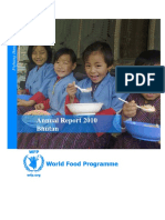 Annual Report - WFP Bhutan 2010_1