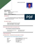Resume - Arul