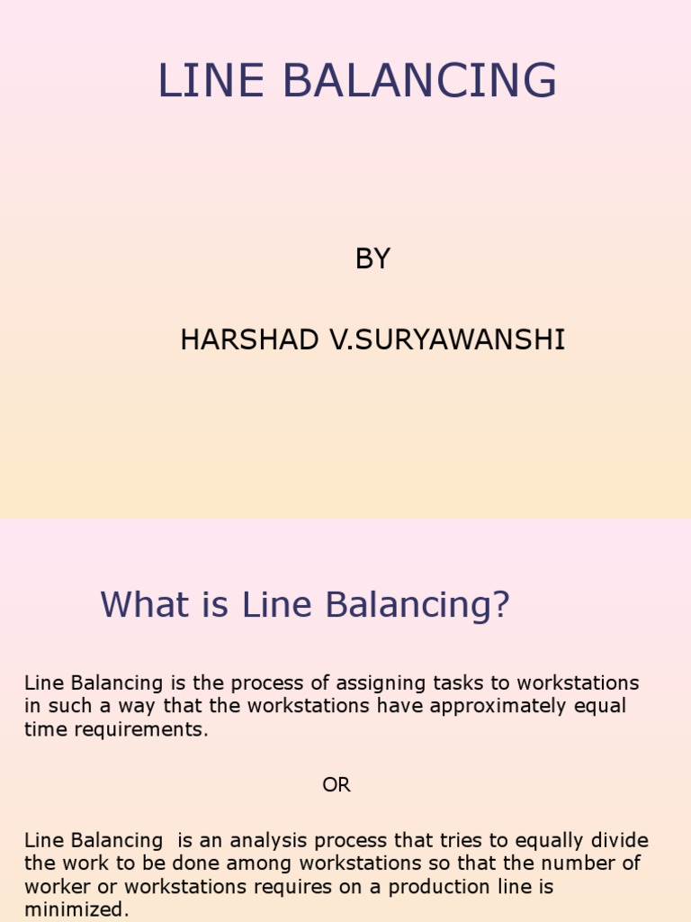 Assembly line balancing algorithms applied mathematics pooptronica Choice Image