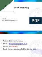 image and vision computing