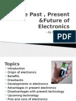 Past Present Future Electronics