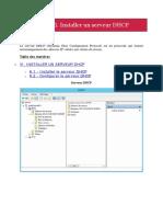 6. Installer Un Server DHCP