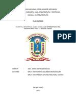 Plan de Tesis Hosppital Geriatrico