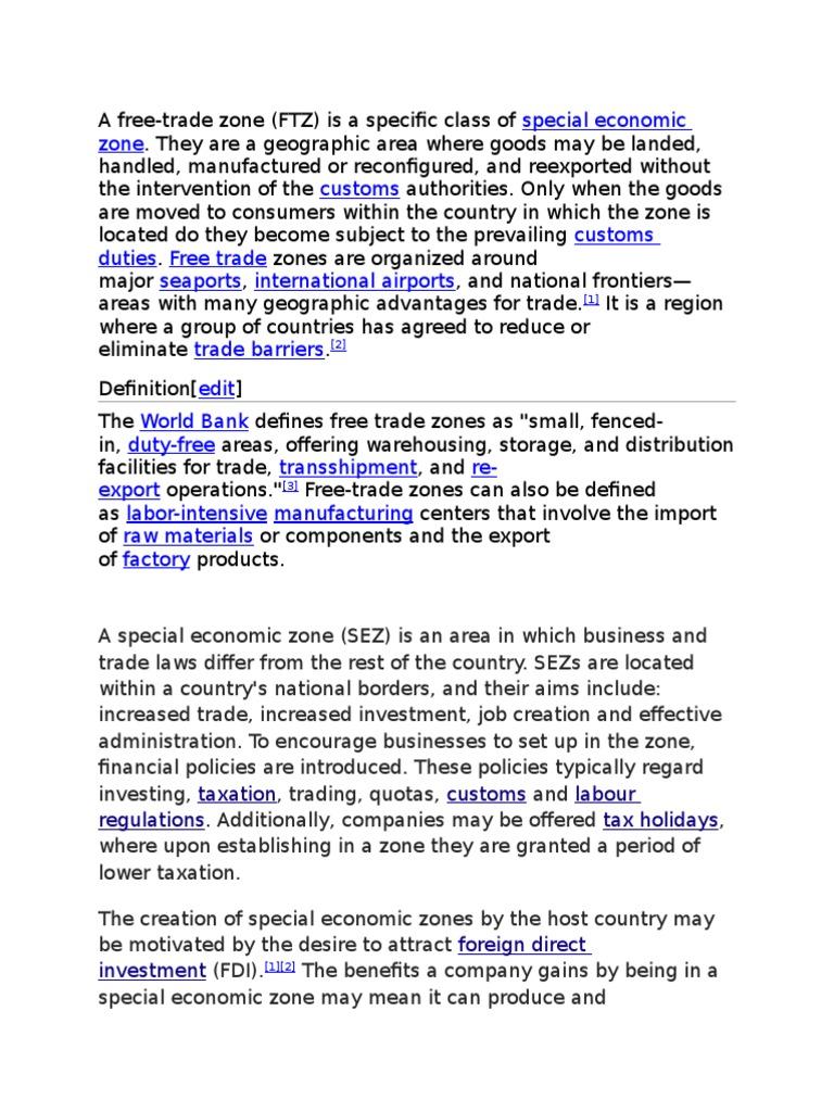b docx | World Economy | Global Business Organization