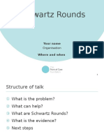Schwartz Rounds Presentation Template