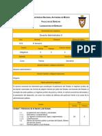 Temario DerechoAdministrativo II