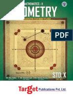 Std Xth Geometry Maharashtra Board