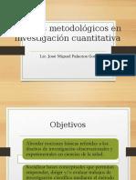 Diseños Metodológicos en Investigación Cuantitativa