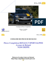 Renault Clio R3 Catalogue