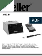 Manual Instrucciones WSD 81