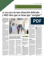 """El SIS está en una situación delicada y MEF dice que se tiene que """"arreglar"""" - Gestión - Diálogo de Políticas - 270916"""