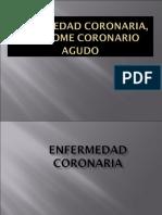 Enfermedad Coronaria, Síndrome Coronario
