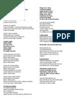 Cantos Para Imprimir Nuevo 2015